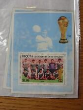 1986 World Cup Stamp Sheet: Iraq Team (Bequia)