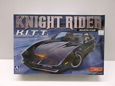 AOSHIMA 1/24 KNIGHT RIDER KITT MODEL KIT SEASON 4 KNIGHT INDUSTRIES BNIB 8003