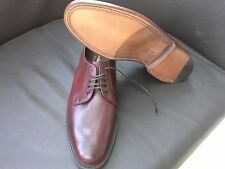 Loake 1880 Perth Pelle di Vitello Scarpe Derby. - Taglia 8 e 10. MADE IN ENGLAND.