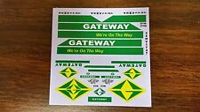 Decal - Gateway waterslide decal. Enough for one tractor & trailer. 1/87th scale