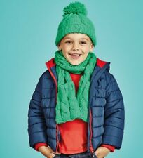 BNWT MOTHERCARE Boys Navy Padded Coat Jacket Red Hooded 6-7 years Fleece Lined