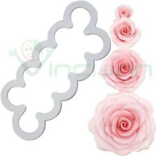 Stampo fiore rosa impressione decorazione torta dolci rose fiori cup cake design