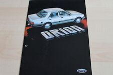 135490) Ford Orion Prospekt 09/1983