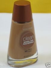 New CoverGirl Clean Normal Skin Makeup Foundation-165 Tawny