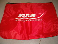 BOSTON WHALER OEM OWNERS MANUAL BAG - RED - TAX FREE!!