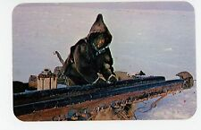 Komatic Sled Runner Advertising—Canadian Arctic—Inuit Eskimo Vintage 1958