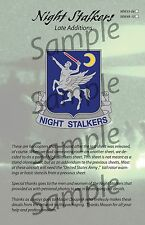 WW Decals 48-10 Night Stalkers-Late Additions