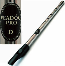 NEW IMPROVED - FEADOG PRO - TRADITIONAL IRISH TIN PENNY WHISTLE - KEY OF D