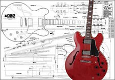 Gibson ES-355® Hollow Body Guitar Plan