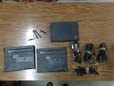Lenovo Thinkpad X200 package(1 laptop (busted screen), 2 docks, 4 power supplie)
