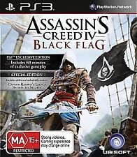 Assassin's Creed 4 IV: Black Flag - Special Edition (Playstation 3) NEW