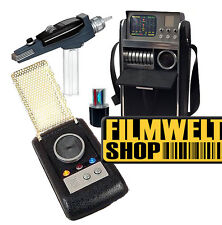 Star Trek Classic PHASER Communicator Medical Tricorder 3er Set + top neu ovp