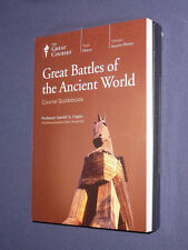 Teaching Co  Great Courses CDs       GREAT BATTLES of the ANCIENT WORLD      new