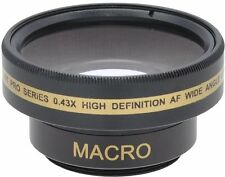 PRO HD WIDE ANGLE WITH MACRO LENS FOR SONY DCR-SR37E DCR-SR38E