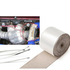 Exhaust Header Turbo Manfold Pipe Aluminum Heat Shield Wrap Tape 51mm x 5m