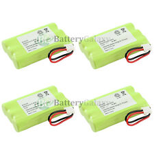 4x Cordless Phone Battery for GE 2-8118 5-2628 5-2660