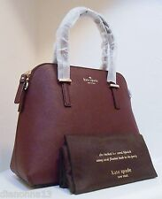 NWT Kate Spade Cedar Street Maise Saffiano Leather Bag Mulled Wine Purple New