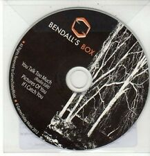 (DD184) Bendall's Box, You Talk Too Much - 2012 DJ CD