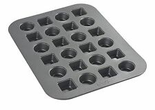 Chicago Metallic Circle Square 24 Hole Miniature Delights Cake Pan 3126730