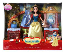 Disney Princess Snow White Kitchen Playset Doll Gift Set MATTEL Window Gift Box