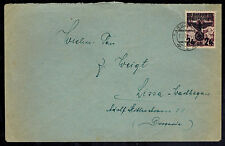 1940 Tarnobrzeg Poland Germany GG Cover to Lezno Lissa Warthegau