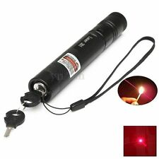 Powerful 301 Red Laser Pointer Pen Light Focus Lazer Visible Beam 650nm 5mw
