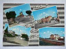 Saluti da ROSETO CAPO SPULICO vedutine Cosenza vecchia cartolina