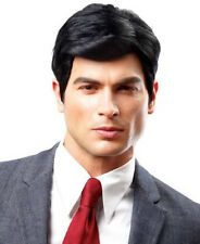 BLACK REAL MAN SEXY MODEL HANDSOME STUDLY GUY STUD COSTUME MALE SHORT WIG 248541