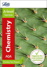 AQA A-Level Chemistry Practice Test Papers by Collins UK (Paperback, 2016)