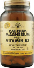 Calcium Magnesium with Vitamin D3, Solgar, 300 tablet