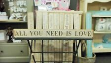 LARGE WOOD SHABBY CHIC WEDDING PRESENT GIFT SIGN PLAQUE DECOR BY AUSTIN SLOAN