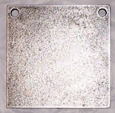 "AR500 Steel Target Square Gong 3/8"" X 8"""