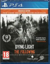 DYING LIGHT: THE FOLLOWING (ENHANCED EDITION) GAME PS4 ~ NEW / SEALED