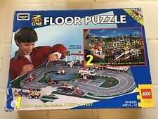 1996 Rose Art Industries 08099 LEGO 2-in-1 Race Floor Puzzle