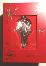 *NEW* Waterford Crystal Christmas Ornament SILVER ANNUAL ANGEL NIB