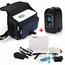 A+ 24 hrs Portable Oxygen Concentrator Generator Battery Oximeter with Bag CE