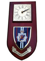 RCT Royal Corps Of Transport Wall Plaque & Clock Regimental Military Shield