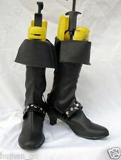 Final Fantasy FFX-2 Paine Cosplay Boots Size US8/24cm