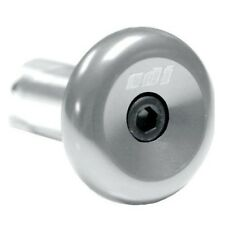 ODI Aluminum Bar End Plugs Silver Fits Bars From 14 - 19mm Bike Bicycle