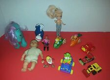 Lot of Vintage toys some made in Hong Kong,  Disney, Muppets, Hot Wheels, Henson