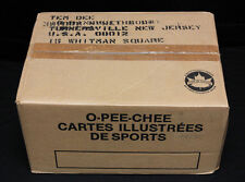 1986-87 O-Pee-Chee Hockey Bulk/Cut Card Vending Case. Still Sealed. 8650 cards.