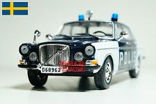 Volvo S 164 (1968) Police of Sweden DeAgostini Scale 1 43 Diecast model car