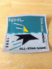 NHL All Star Game 1995 Patch San Jose Sharks New