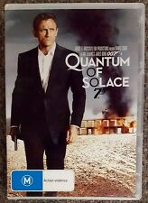 Quantum Of Solace (Daniel Craig) DVD in LIKE NEW condition (Region 4)