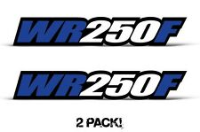 AMR Racing Yamaha WR 250F Swingarm Graphic Kit Number Plate Decal Sticker Part