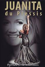 JUANITA DU PLESSIS - DVD - TYDLOOS...  DIE MUSIEKVIDEO'S