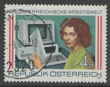 AUSTRIA SG2144 1987 WORLD OF WORK FINE USED