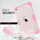 Shockproof Hybrid Heavy Duty Rubber Hard Case Cover For Apple iPad Mini 1/2/3