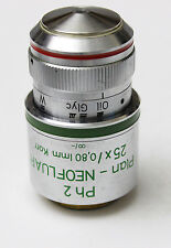 Zeiss Plan Neofluar 25x 0.80 Korr Ph2 Microscope Objective 440545 Phase Contrast