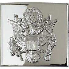 USAF Air Force Belt Buckle Honor Guard Officer  Coat of Arms NEW  (USAF Issue)